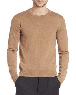 Fine Gauge Wool Sweater