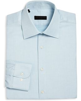 Regular-fit Dotted Dress Shirt