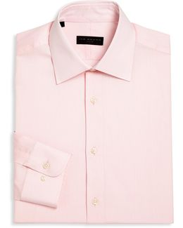 Regular-fit Textured Dress Shirt