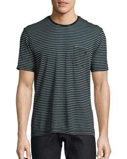 Striped Wool Tee