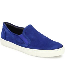 Collection Suede Slip-on Sneakers
