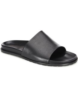 Collection Slide Leather Sandals