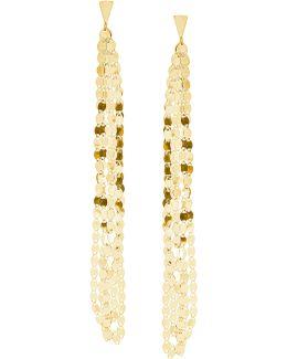 Nude Tassel Duster Earrings
