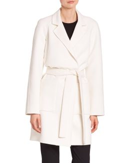 Wool Bathrobe Coat