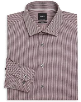 Santos Kent Slim-fit Dress Shirt