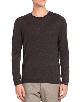 Virgin Wool & Silk Sweater