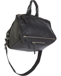 Pandora Grained-leather Messenger Bag