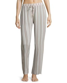 Lara Striped Pajama Pants
