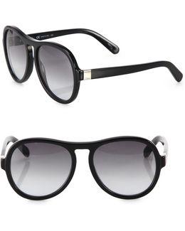 Marlow 57mm Aviator Sunglasses
