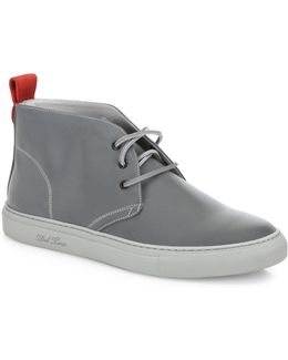 3m Chukka Leather Sneakers