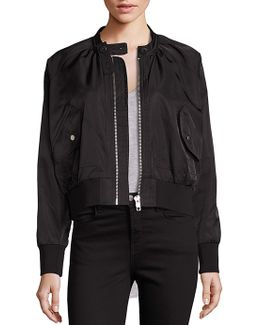 Midnight Bomber Jacket