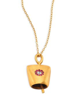 Belle Small Crystal Pendant Necklace