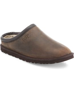Classic Leather Clogs