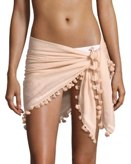 Silk & Cotton Blend Pareo