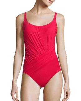 Landscape One-piece Tank Swimsuit