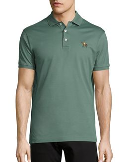 Classic Solid Stretch Polo