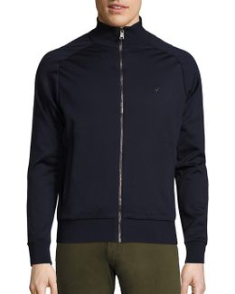 Full-zip Mockneck Sweater