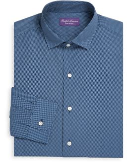 Purple Label Amalfi Regular-fit Cotton Dress Shirt