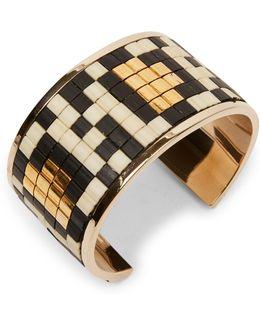 Geometric Mosaic Bracelet