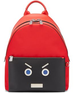 Faces Leather Backpack