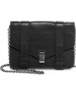 Ps1 Leather Chain Wallet