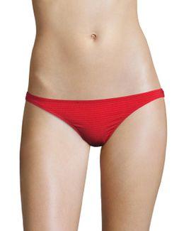 Mercer Solid Bikini Bottom