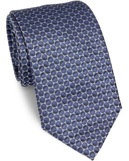 Two-tone Dot Silk Tie