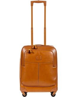"Pelle Cognac 21"" Carry-on Spinner"