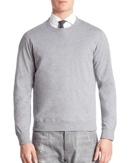 Crewneck Heathered Sweater