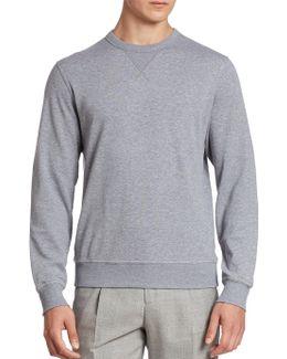 Felpa Crewneck Athletic Sweatshirt