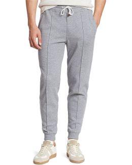 Felpa Cotton Blend Heathered Sweatpants