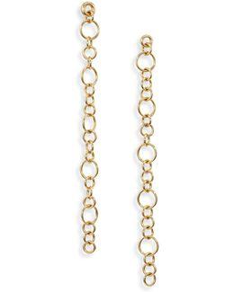 Selene Chain Drop Earrings