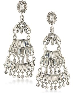 Rockstars Statement Crystal Chandelier Earrings