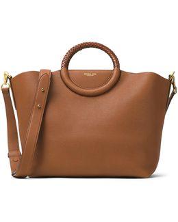 Skorpios Leather Market Bag