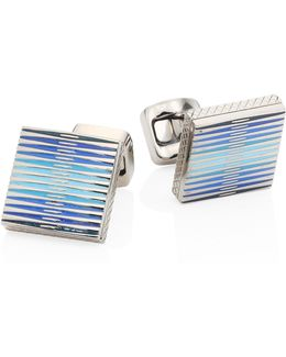 Graphic Titanium Cuff Links