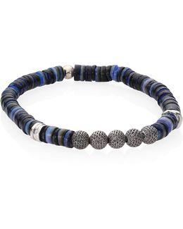 Seychelles Rhodium-plated Sterling Silver Bracelet