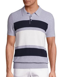Colorblock Polo