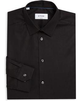 Super Slim Solid Dress Shirt