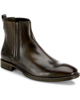 Fleetwood Paneled Chelsea Boots