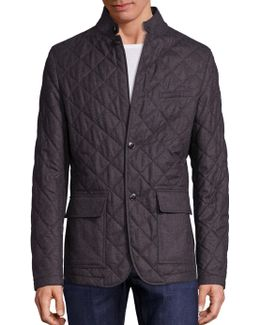 Long Sleeve Wool Jacket