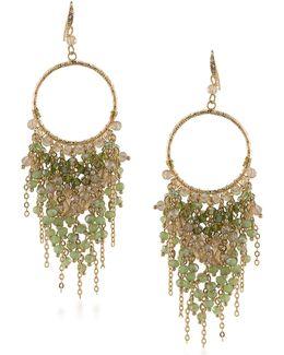 Vibrant Vibes Beaded Chandelier Earrings