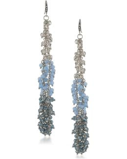 Vibrant Vibes Beaded Linear Drop Earrings