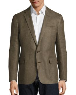 Regular-fit Linen Blazer