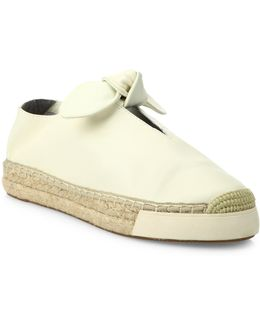 Gia Leather Sneakers