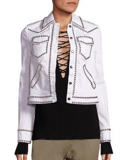 Hayden Stud Crop Jacket