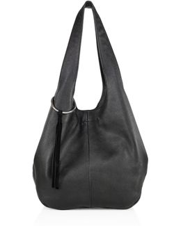 Finley Leather Shopper