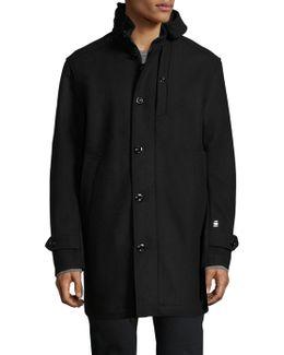 Garber Wool Blend Coat