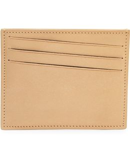 Stitched Leather Card Case