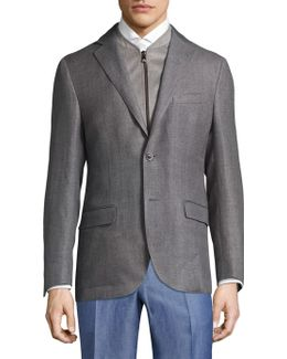 Slim Wool Jacket