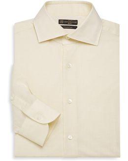 Linen Blend Dress Shirt
